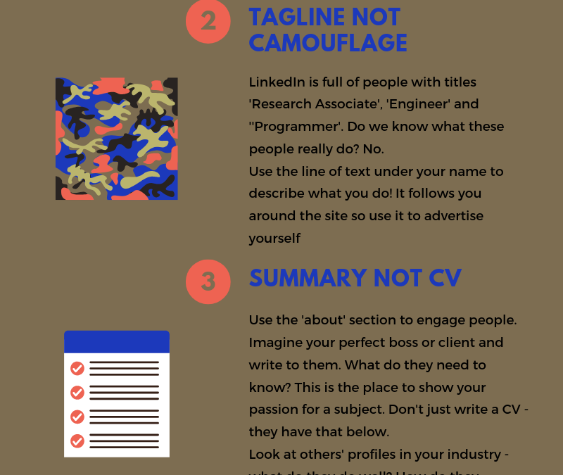 5 Top Tips for LinkedIn