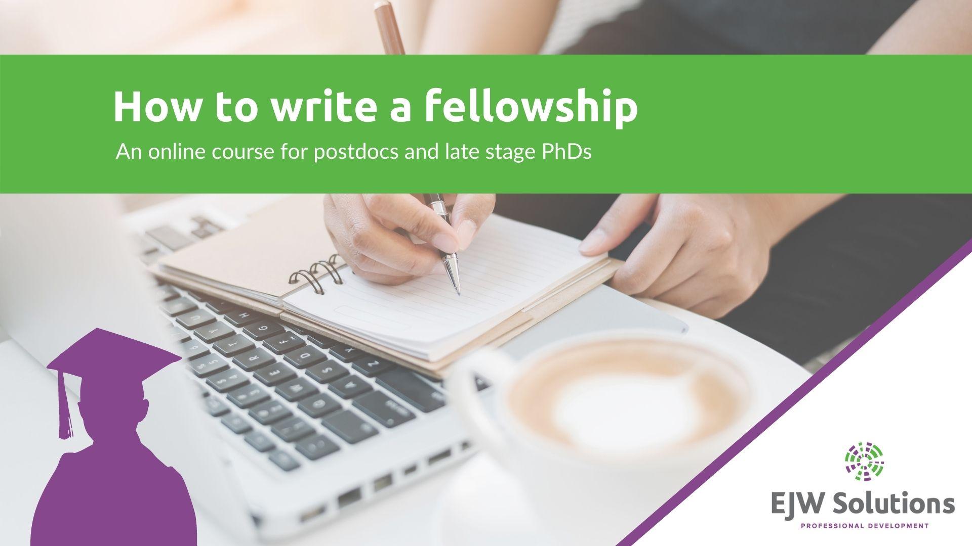 how to write a fellowship