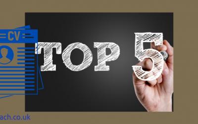 5 key elements of an academic CV